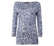 Shirt aus Viskose mit floralem Muster
