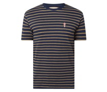 Regular Fit T-Shirt mit Streifenmuster