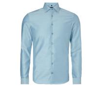 Slim Fit Business-Hemd mit Haifischkragen