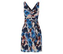 Kleid mit künstlerischem Muster