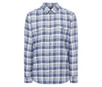 Modern Fit Flanellhemd mit Brusttaschen