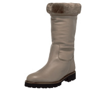Stiefel aus Leder mit Webpelzfutter