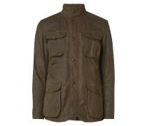 Fieldjacket aus gewachster Baumwolle
