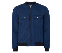 Bomber aus Denim