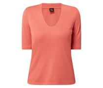 T-Shirt aus Modal-Baumwoll-Mix