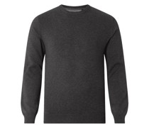 Pullover aus Baumwoll-Woll-Mix