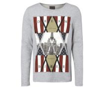 Sweatshirt mit Foto-Print und Message