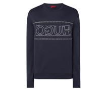 Sweatshirt mit Logo-Print Modell 'Dicago'