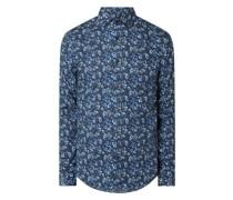 Regular Fit Business-Hemd aus Baumwolle Modell 'Rostol'