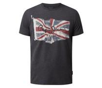 Regular Fit T-Shirt mit Logo Modell 'Deanni'