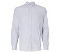 Regular Fit Freizeithemd mit Allover-Muster
