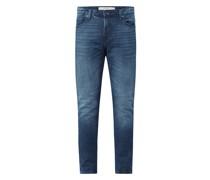 Super Skinny Fit Jeans mit Stretch-Anteil Modell 'Chris'