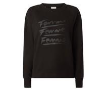 Sweatshirt aus Bio-Baumwollmischung Modell 'Artist'