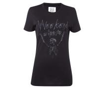 T-Shirt mit Print und Message im Vintage Look