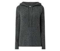 Pullover mit Kapuze Modell 'Mally'