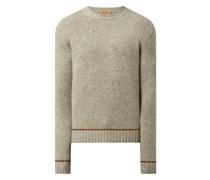 Pullover mit Alpaka-Anteil Modell 'Walter'
