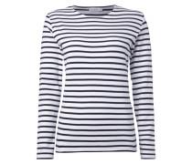 Sweatshirt aus Baumwolle mit Streifen-Dessin