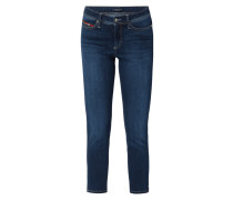 Light Stone Washed Slim Fit Jeans