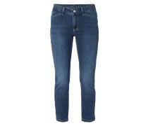 Cropped Slim Fit Jeans mit Stretch-Anteil
