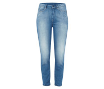 Boyfriend Fit Jeans mit Double Stone Wash