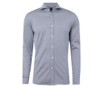 Slim Fit Hemd aus Jersey
