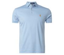 Slim Fit Poloshirt aus Pima-Baumwolle