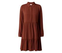 Kleid aus Viskose Modell 'Rose'