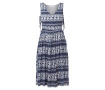 Kleid mit seitlichen Schnürungen
