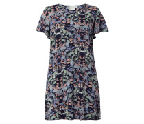 PLUS SIZE – Kleid mit floralem Muster