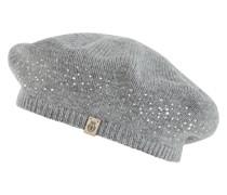 Mütze mit Ziersteinen