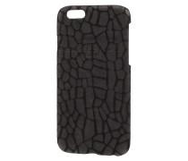 iPhone 6 Case mit Besatz aus echtem Leder