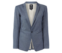 Blazer in Denimoptik