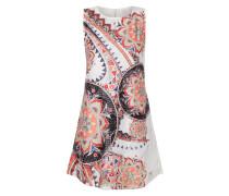 Kleid aus Spitze mit ornamentalem Allover-Print