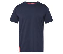 T-Shirt mit Aufnäher auf der Rückseite