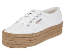 Plateau-Sneaker aus Canvas