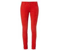 Slim Fit 5-Pocket-Hose mit Velvet Cotton Finish