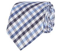 Krawatte aus Seide mit Vichy Karo