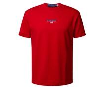Classic Fit T-Shirt mit Label-Stitching