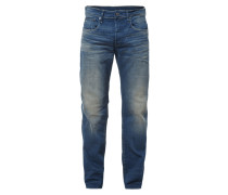 Sand Washed Jeans im Loose Fit