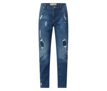 Relaxed Slim Fit Jeans mit Stretch-Anteil Modell 'Rich'
