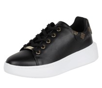 Sneaker in Leder-Optik Modell 'Bradly'