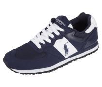 Sneaker mit Kontrasteinsätzen aus Mesh