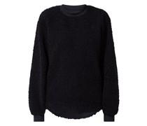Sweatshirt aus Teddyfell Modell 'Carley'