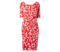 Kleid mit geknoteter Drapierung
