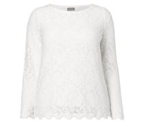 PLUS SIZE - Shirt aus floraler Spitze