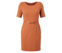 Kleid mit 1/2-Arm und Taillengürtel