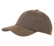 Basecap aus gewachster Baumwolle