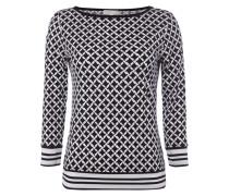 Shirt mit grafischem Allover-Muster