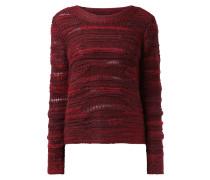 Pullover mit wechselndem Maschenbild