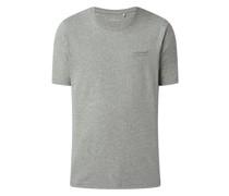 Regular Fit T-Shirt mit Viskose-Anteil